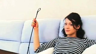Russian-Mistress Video: Anna Gold & Anna Pipe