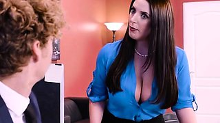 Busty Executives Share Well Hung CEO In His Office
