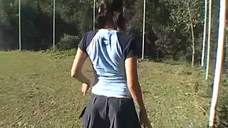 Licking a farting butt two