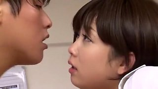 Exotic Japanese whore Mana Sakura in Amazing Secretary, Masturbation/Onanii JAV video