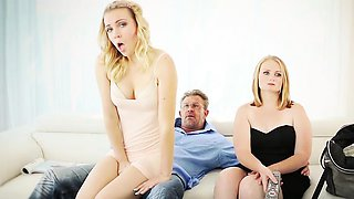 Family Strokes- Step Daughter fucked by Pervert Dad