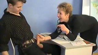 Russian Granny Teacher And Her Student mature mature porn granny old cumshots cumshot