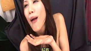 Nozomi Ichinohe in Sperma 38