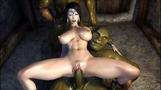 Secret Of Beauty (Stone Lady...Orc Ritual...The Temple)