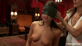 21 yr old Hottie Submits to Hard Fucking and Humiliation