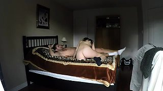 Sexy babe with great oral skills gets fucked hard on the bed