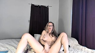 Flexible Ava having an extraordinary love for her own body