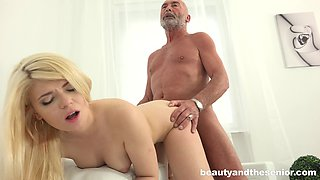 Blonde seductress Masha Ray and Nico having a steamy sixty-nine