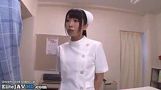 japanese nurse got caught fingering