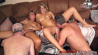 german mature couple swinger home orgy
