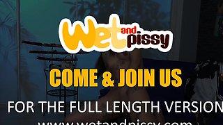 Thai Girl Next Door Shocks With Piss Play