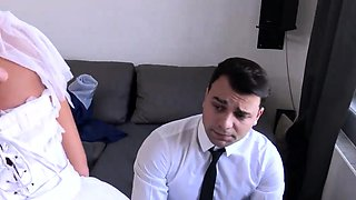 DEBT4k. Loan manager gives bride a chance of getting rid