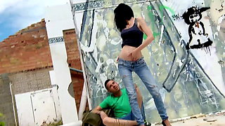 Student Tanja goes for Outdoor Sex