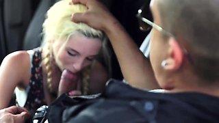 Brutal gangbang gift Helpless teen Piper Perri was on her wa