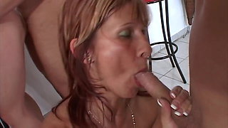 Lovly Sweet Moms Lick And Take Piss-Sperm