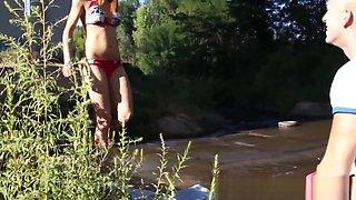 Bikini dutch teen pounded