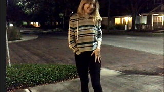 Vintage Paulina: Cumming in Pants