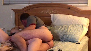 Actual affair caught. She needed it! Legs spread