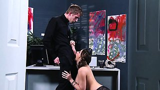 Brazzers - Big Tits at Work - ZZIncs Corporat