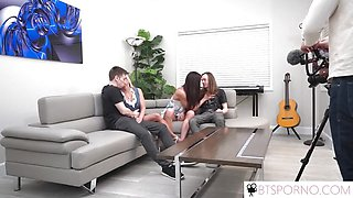 Hot BTSporno-Mom swapping with Sofie Marie and Payton Hall