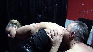 TURKISH MILF DANA JAYN FEMDOM SEX WITH GERMAN SLAVE GUY