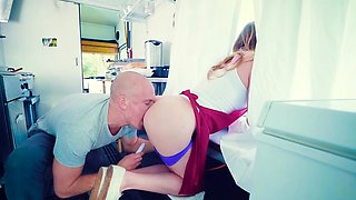 Brazzers - Brazzers Exxtra -  When The Food T