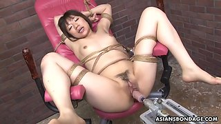 Shiori natsumi cums like never before with ai fucking machine