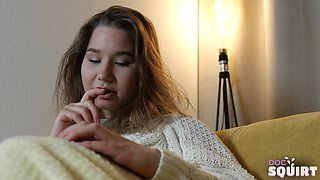 busty teen goes to doc for squirting