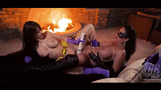 Superheroine Batgirl is Used and Abused by the Catwoman