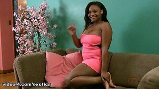 Amazing pornstar in Horny Solo Girl, Black and Ebony xxx clip