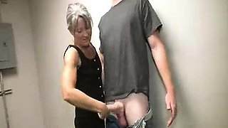 Cougar Wants Some Huge Load From His Soft Balls
