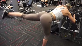 Fitness hot ass hot cameltoe 56