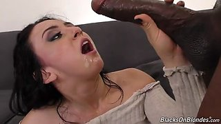 Latina Taking BBC in Both Holes