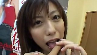 Exotic Japanese girl in Fabulous Small Tits, Striptease JAV clip