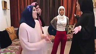 Bachelorette party cheating Muslim girl