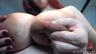 Heavy tits milk