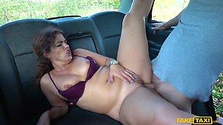 Big Sexy Spanish Ass Bounces In Cab - FakeTaxi