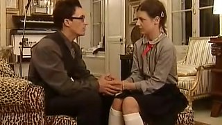 European Teen School Girl Gets Fucked in her asshole and sweet pussy - EDITED