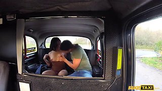 beautiful oriental slut gets her pussy mastered by the driver