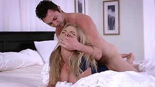 Lonely blonde housewife, Rachael Cavalli is cheating on her husband and enjoying it more than ever
