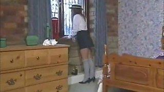 1990s British schoolgirl Samantha