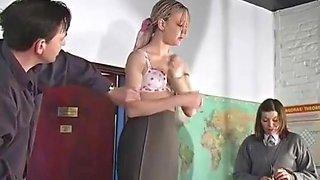 Spanking Schoolgirl