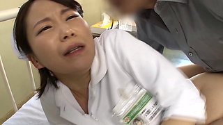 Japanese Married Nurse in Serial Fuck Treatment