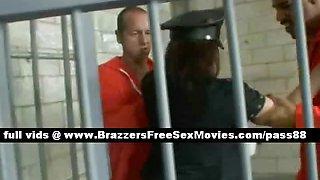 Amazing prison guard