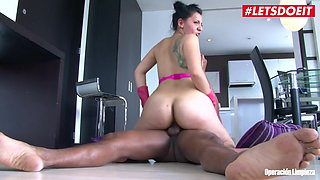 LETSDOEIT - Big Ass Colombian Maid Fucked Hard by Rich Guy