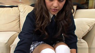 Sexy Schoolgirl Loves To Get Penetrated
