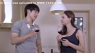 AMWF Korean Teen fucks White Step Mom