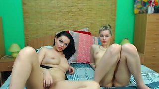 Hot Kissing and Licking By Gorgeous Lesbians