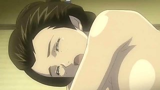 Japanese Kimono hentai fucking a bigcock by ghetto anime