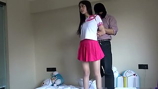 Chinese Schoolgirl Tied Up